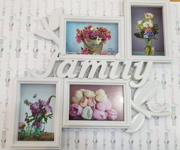 Rama foto colaj Family 4 poze